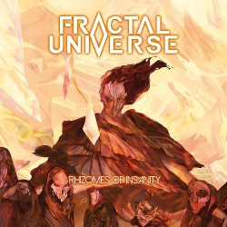 Fractal Universe - Rhizomes Of Insanity - CD DIGIPAK