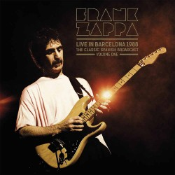 Frank Zappa - Live In Barcelona 1988 Vol.1 - DOUBLE LP Gatefold