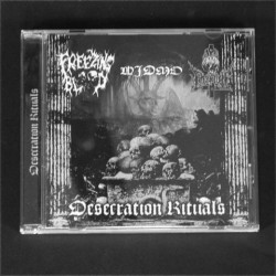 Freezing Blood / Widmo / The Sons Of Perdition - Desecration Rituals - CD