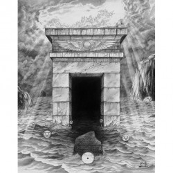 Gate Of Gehenna - Qliphoth's Gate (25 Cm X 32 Cm) - Poster