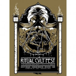 Ghost Brigade - Ritual Kvlt - Screen print
