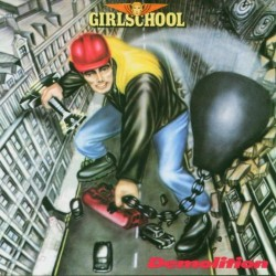 Girlschool - Demolition - DOUBLE LP GATEFOLD COLOURED