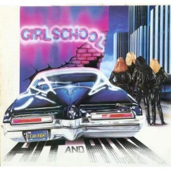 Girlschool - Hit And Run - LP Gatefold