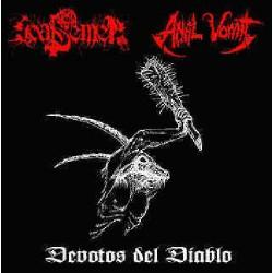 Goat Semen - Anal Vomit - Devotos Del Diablo - CD DIGIPAK