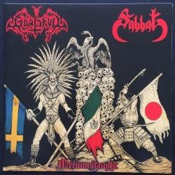 "Goat Skull / Sabbat - Mexiconslaught - 7"" vinyl"