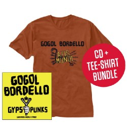 Gogol Bordello - Gypsy Punks Underdog World Strike LTD Edition - CD + T-shirt bundle (Men)