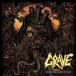 Grave - Burial Ground - LP