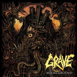 Grave - Burial Ground - LP COLOURED