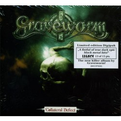 Graveworm - Collateral Defect - CD DIGIPAK