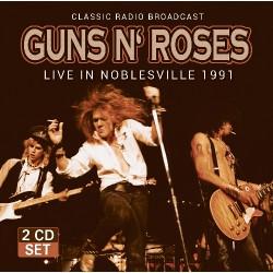 Guns N' Roses - Live In Noblesville 1991 - DOUBLE CD
