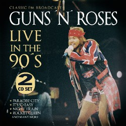 Guns N' Roses - Live In The 90s - DOUBLE CD