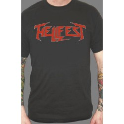 HELLFEST - 80's Logo - T-shirt vintage (Men)