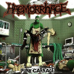 Haemorrhage - Punk Carnage - CD EP slipcase