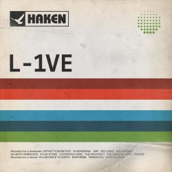 Haken - L-1VE - 2CD + 2DVD digipak