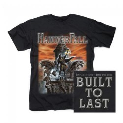HammerFall - Built To Last - T-shirt (Men)