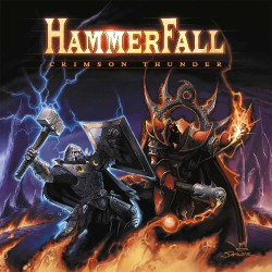 HammerFall - Crimson Thunder - LP COLOURED