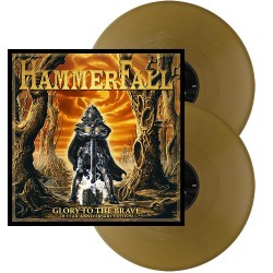 HammerFall - Glory To The Brave - 20 Year Anniversary Edition - DOUBLE LP GATEFOLD COLOURED