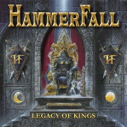 HammerFall - Legacy of Kings - LP COLOURED