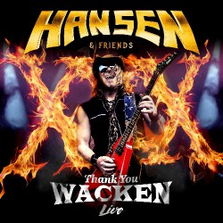 Hansen & Friends - Thank You Wacken Live - CD + DVD Digipak