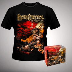 Hate Eternal - Infernus - Digibox + T-shirt bundle (Men)