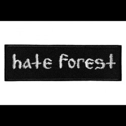 Hate Forest - Logo - EMBROIDERED PATCH