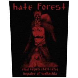 Hate Forest - Vlad Tepes - BACKPATCH