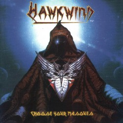 Hawkwind - Choose your Masques - DOUBLE LP GATEFOLD COLOURED