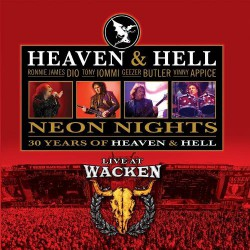 Heaven & Hell - Neon Nights - Live At Wacken - DOUBLE LP Gatefold