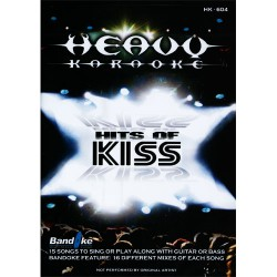 Heavy Karaoke - Hits of Kiss - DVD