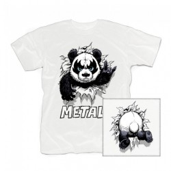 Heavy Metal Happiness - Panda Metal! - T-shirt (Men)