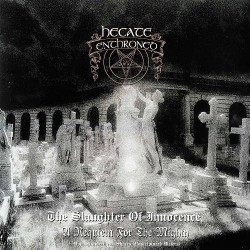 Hecate Enthroned - The Slaughter Of Innocence, A Requiem For The Mighty / Upon Promeathean Shores (Unscriptured Waters) - DOUBLE LP GATEFOLD COLOURED