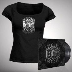 Heilung - Ofnir [Deluxe Edition] - Double LP gatefold + T-shirt bundle (Women)