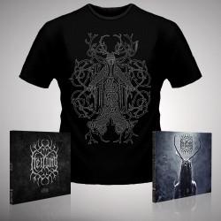 Heilung - Ofnir + Lifa - 2 x CD Digipak + T-shirt bundle (Men)