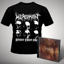 Hierophant - Mass Grave - CD + T-shirt bundle (Men)