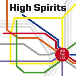 High Spirits - You Are Here - LP
