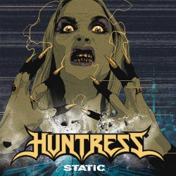 Huntress - Static - CD DIGIPAK