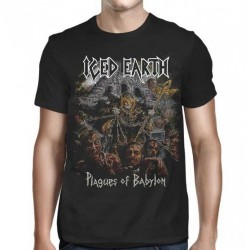Iced Earth - Plagues - T-shirt (Men)