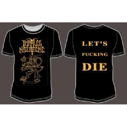 Impaled Nazarene - Let's Fucking Die - T-shirt (Men)
