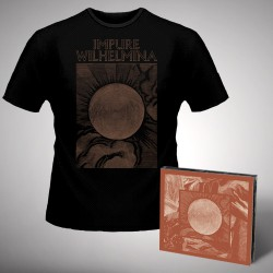 Impure Wilhelmina - Radiation - CD DIGIPAK + T-shirt bundle