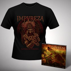 Impureza - Bundle 1 - CD DIGIPAK + T-shirt bundle