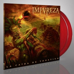 Impureza - La Caída De Tonatiuh - DOUBLE LP GATEFOLD COLOURED + Digital