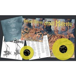 "Infernal Majesty - Unholier Than Thou - LP COLOURED + 7"" COLOURED"
