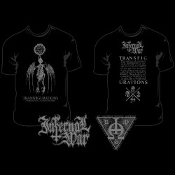 Infernal War / Kriegsmaschine - Transfigurations - T-shirt (Men)