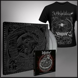 Inquisition - Bloodshed Across The Empyrean Altar Beyond The Celestial Zenith [cow] - Leather sleeve double LP + CD Digipak + T-shirt (Men)