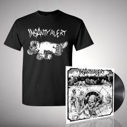 Insanity Alert - Bundle 3 - LP + T-Shirt bundle (Men)
