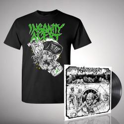 Insanity Alert - Bundle 4 - LP + T-Shirt bundle (Men)