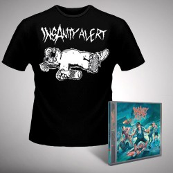 Insanity Alert - Insanity Alert - CD + T-shirt bundle (Men)