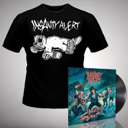Insanity Alert - Insanity Alert - LP + T-Shirt bundle (Men)