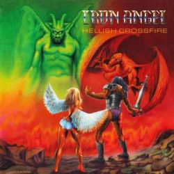 Iron Angel - Hellish Crossfire - LP COLOURED