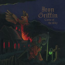 Iron Griffin - Curse Of The Sky - LP